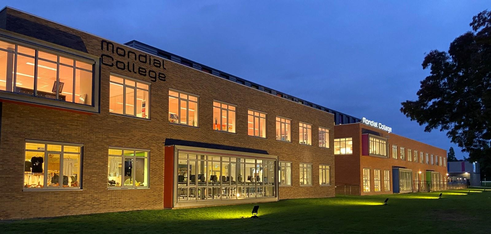 Buitenverlichting Mondial College Meeuwse Acker Nijmegen