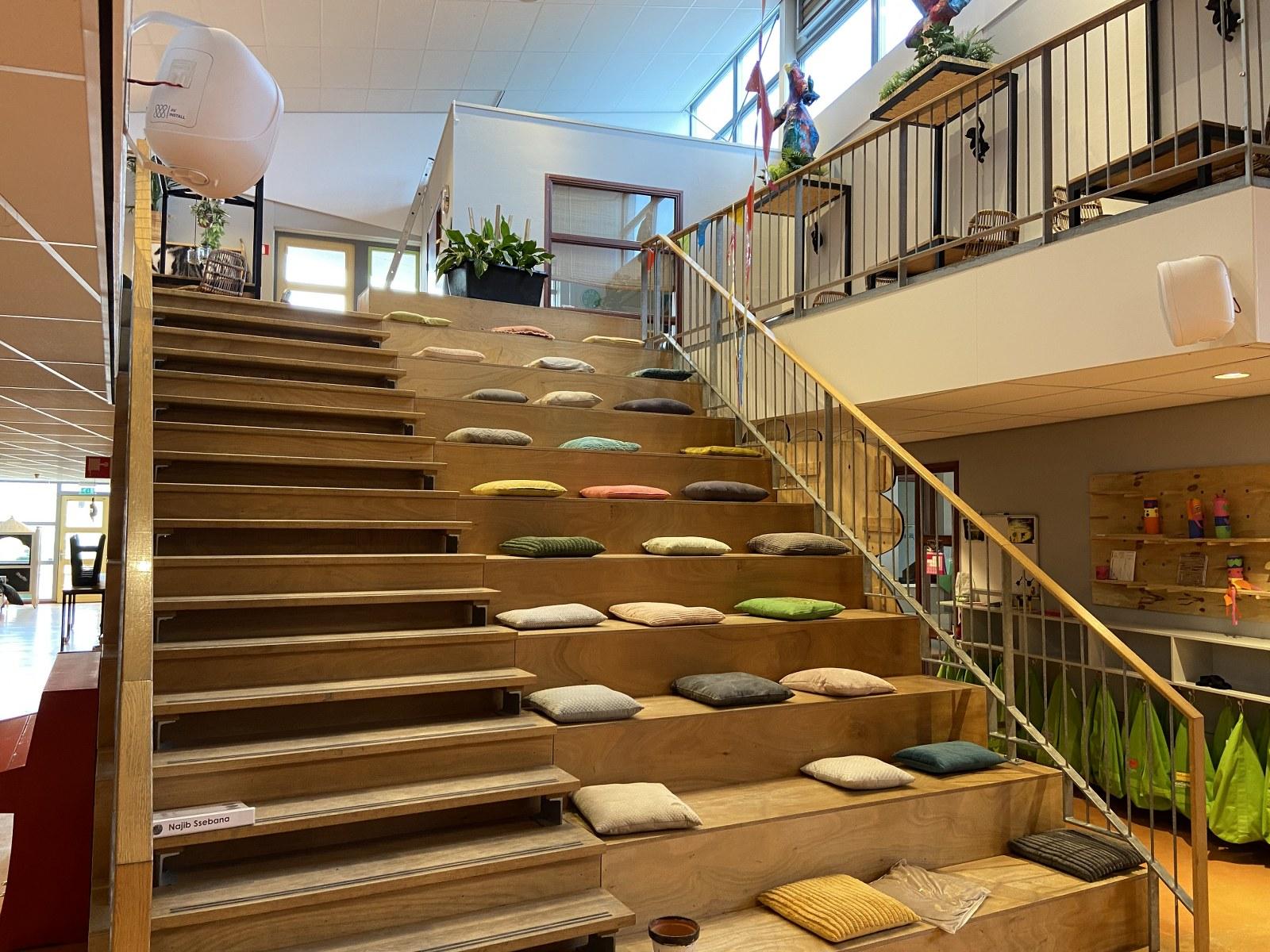 Audio installatie basisschool De Bonckert in Boxmeer